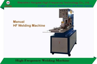 Manual Radio Frequency Welding Machine 380v Two Manual Trays Construction