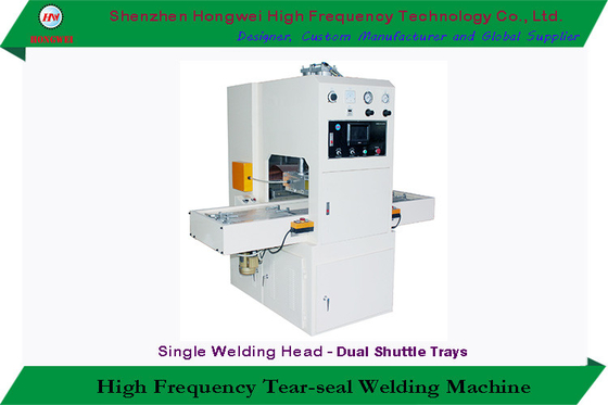 5 KW Semi Automatic Sealing Machine , HF Blister Sealing Machine With Shuttle Tray